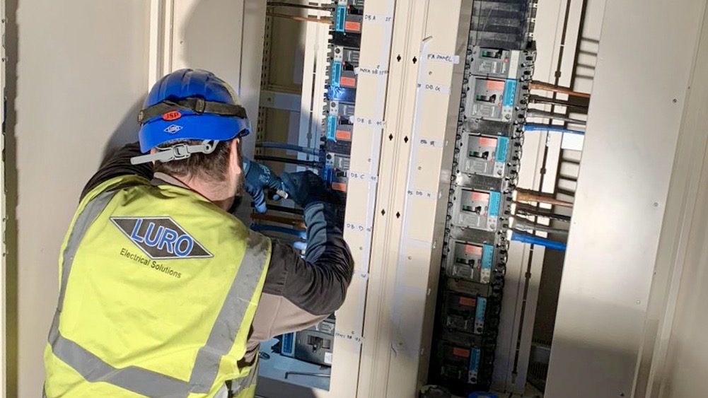 A Luro Electrical worker